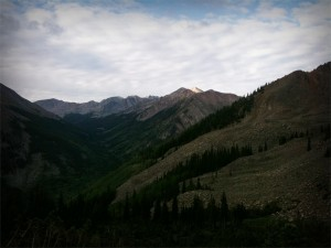 Hope Pass looking South 1 August 2010