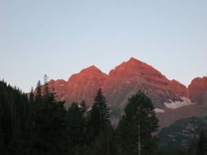 Maroon Bells at Dawn